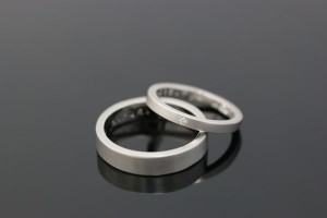 手作り結婚指輪リング写真