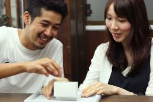 手作り結婚指輪納品風景