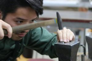手作りマリッジリング制作