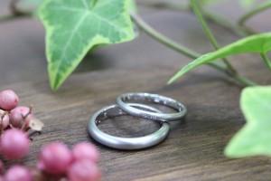 手作り結婚指輪 N様ring