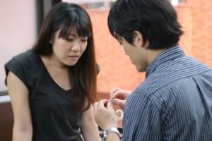 手作り結婚指輪A様制作風景