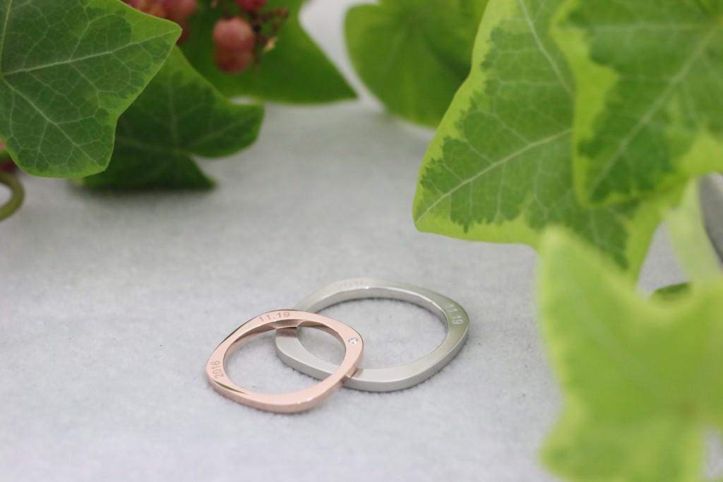 結婚指輪K様