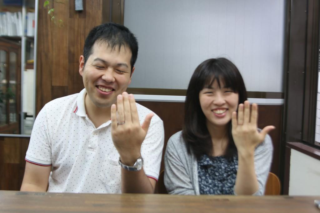 結婚指輪納品写真