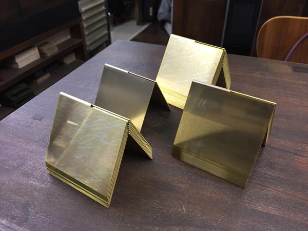 uzuki design 真鍮加工